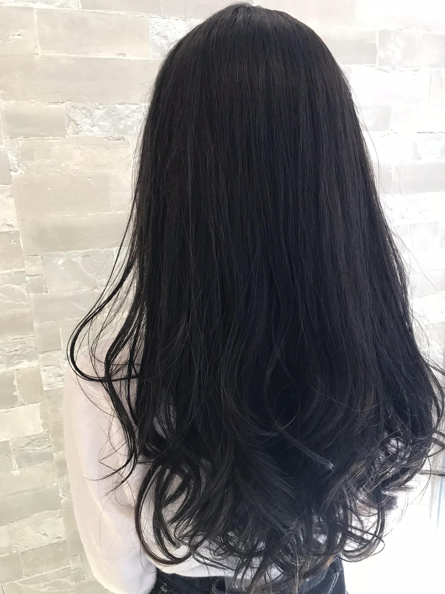 ロング×暗髪
